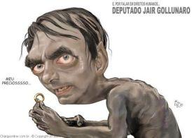 bolsonaro-charge-Aroeira-direitos-humanos